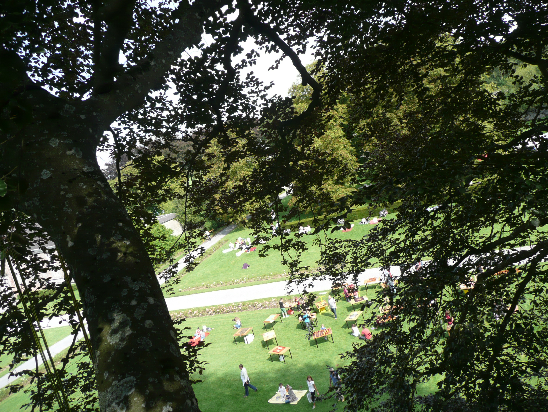 Parc du ch teau de modave parcs et jardins de wallonie for Jardin 19eme siecle